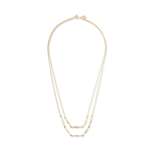 Gorjana Geometric Double Layer Necklace