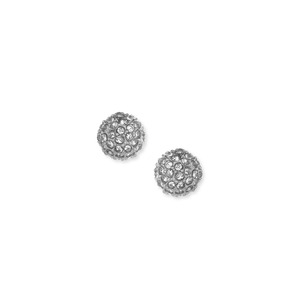Sophie Harper Pavé Ball Studs in Silver