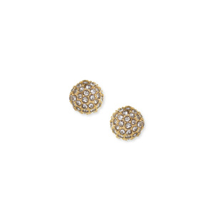 Sophie Harper Pavé Ball Studs in Gold
