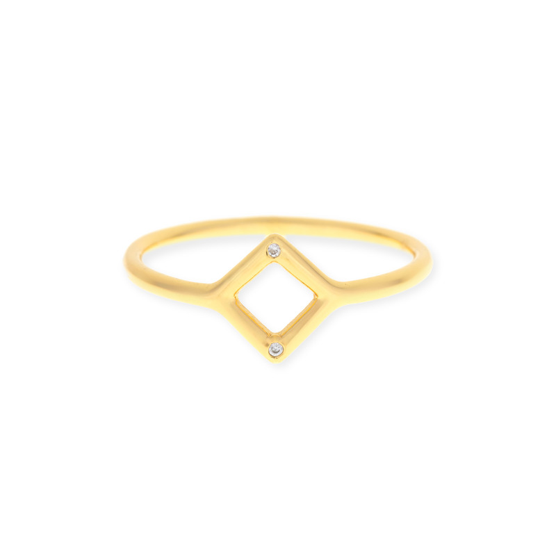 Gorjana Esme Cutout Ring