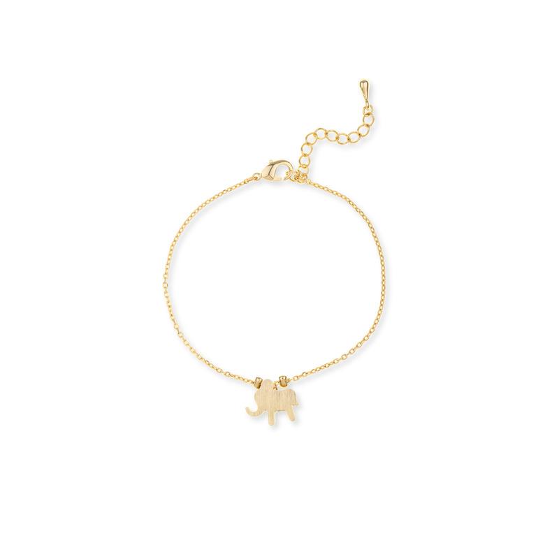Moon & Lola Elephant Bracelet