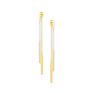 Gorjana Mave Double Drop Earrings