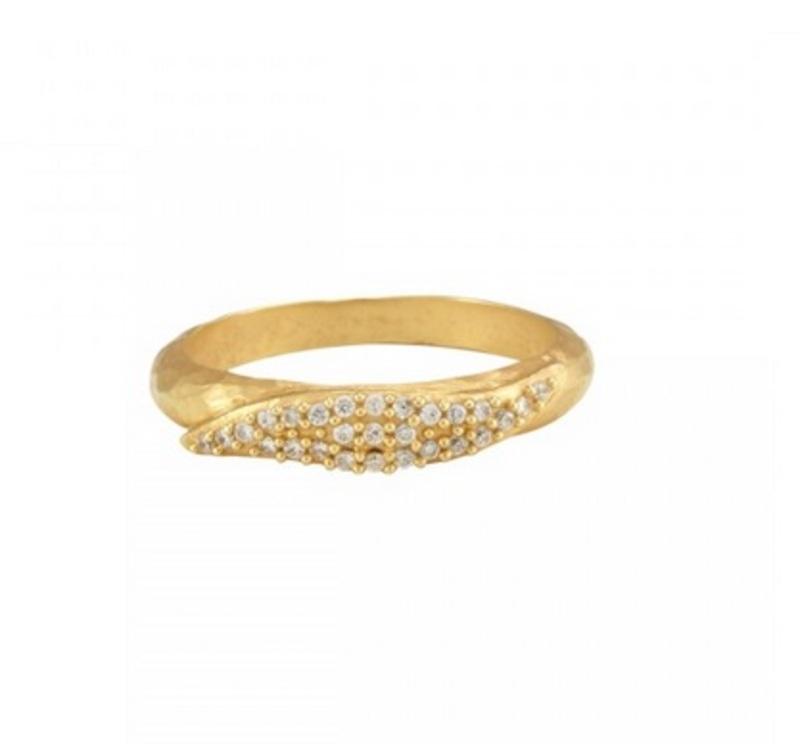 Melinda Maria Mattie Pave Ring
