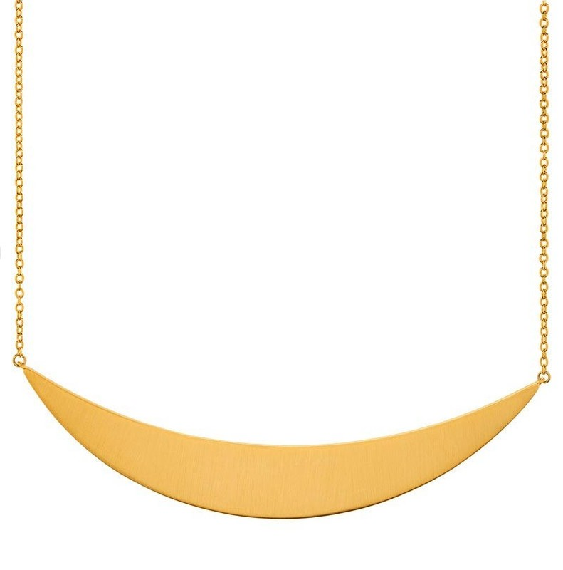 Gorjana Crescent Plate Necklace