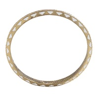 House of Harlow 1960 Spectrum Bangle in White
