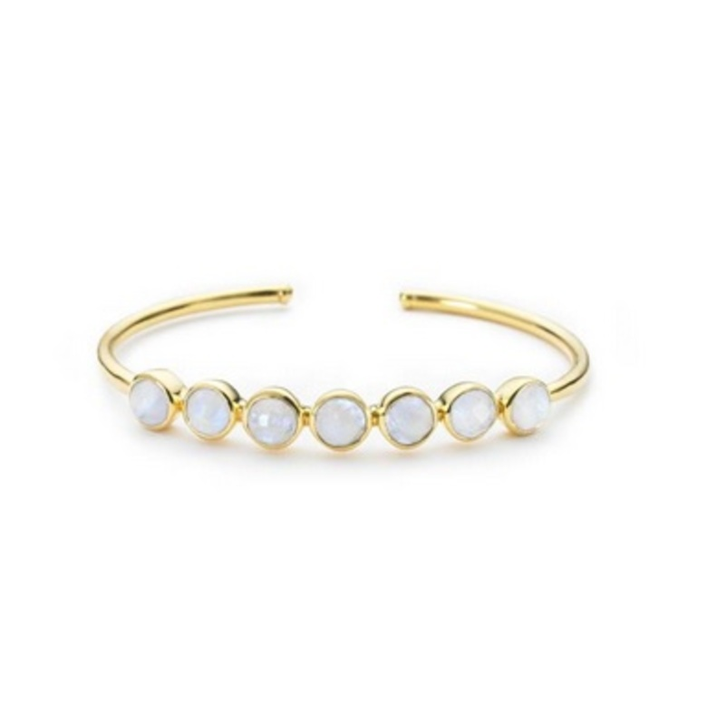Margaret Elizabeth Rimini Bangle in Moonstone