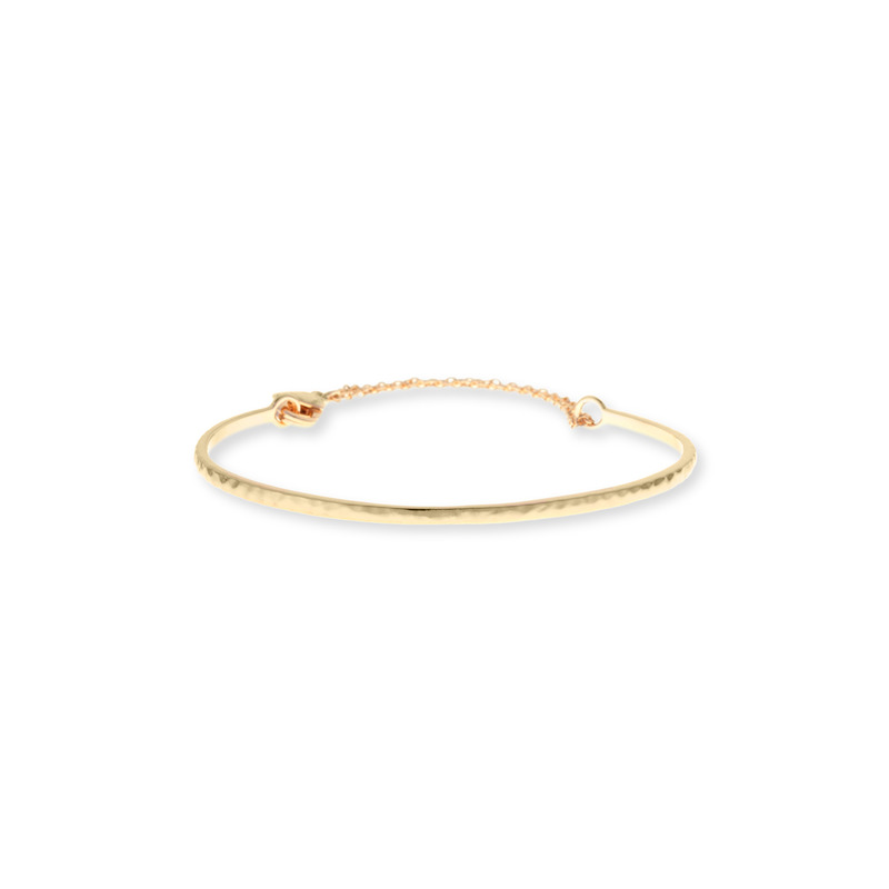 Gorjana Taner Loop Chain Bracelet in Gold