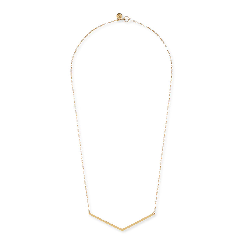 Gorjana Taner V Necklace