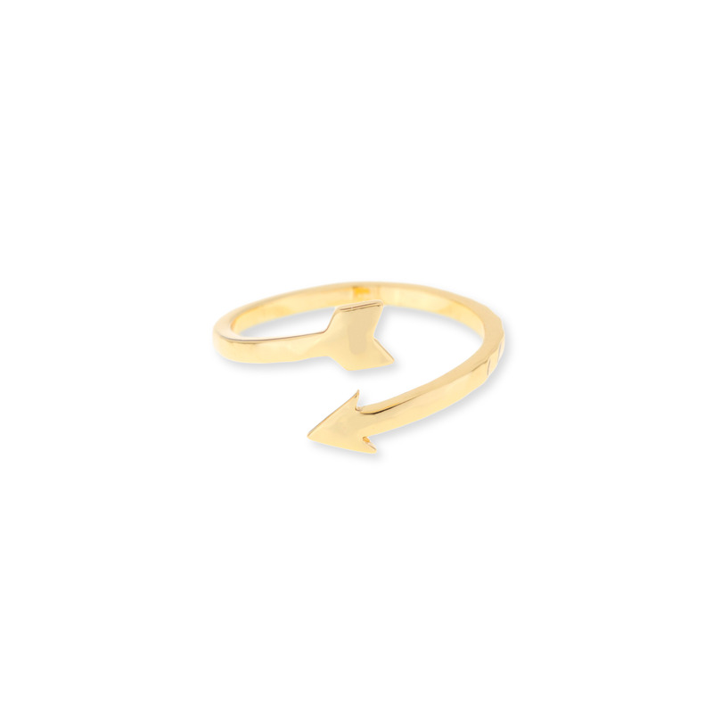 Gorjana Wrap Arrow Midi Ring