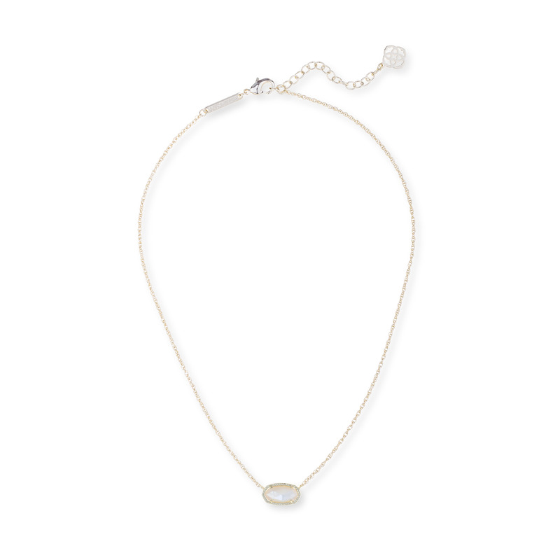 Kendra Scott Elisa Necklace in Ivory Pearl