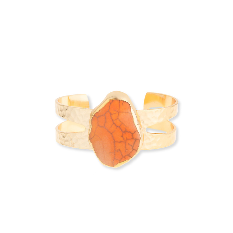 Elise M Tarot Cuff in Coral