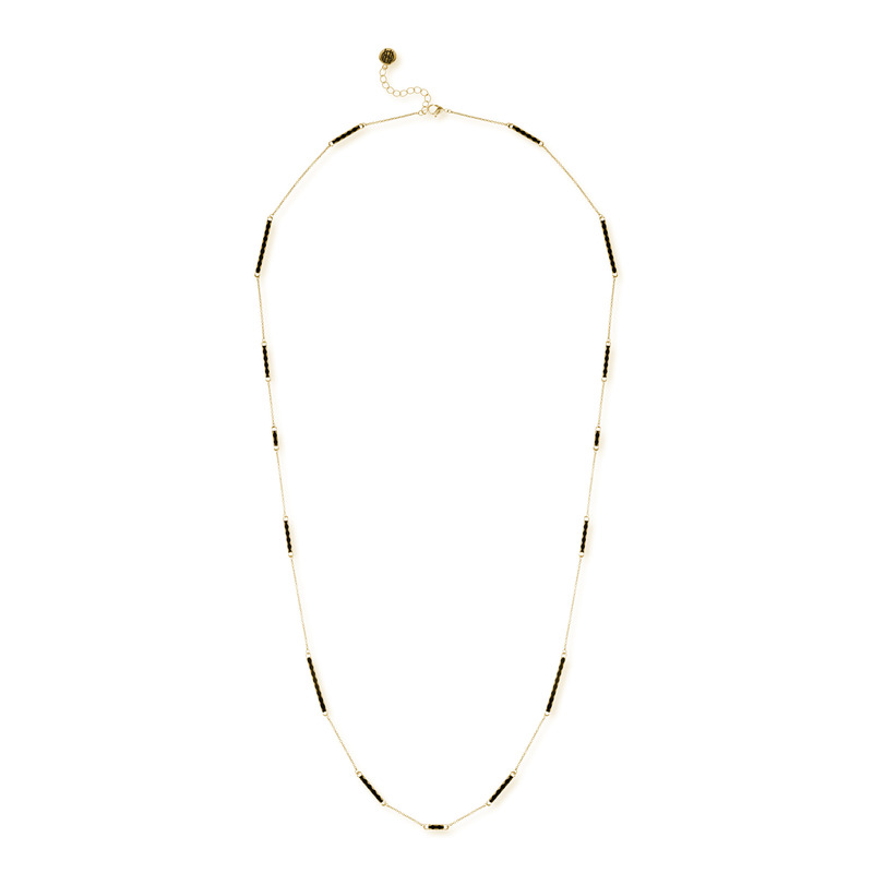 House of Harlow 1960 Sunburst Bar Wrap Necklace in Gold