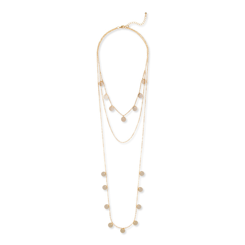 Sophie Harper Layered Disc Necklace