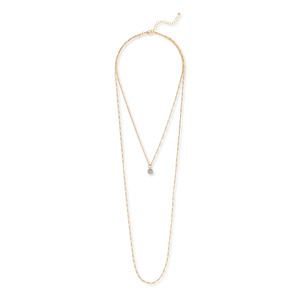 Sophie Harper Pavé Ball Layer Necklace
