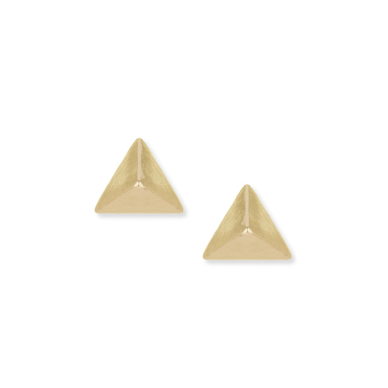 a.v. max Metal Point Stud Earring in Gold