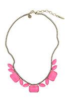 Loren Hope Blythe Necklace in Neon Pink