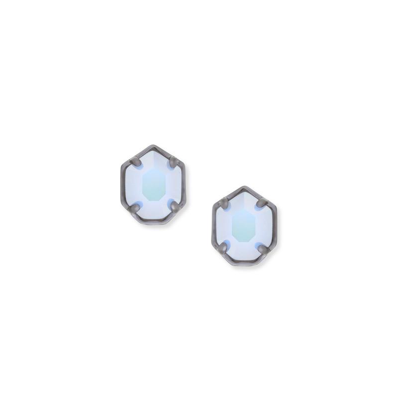 Kendra Scott Logan Earring in Iridescent Opalite