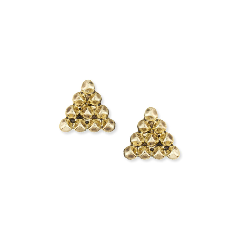 House of Harlow 1960 Cerro Torre Stud Earring in Gold