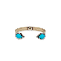 Loren Hope Small Sarra Cuff in Lagoon