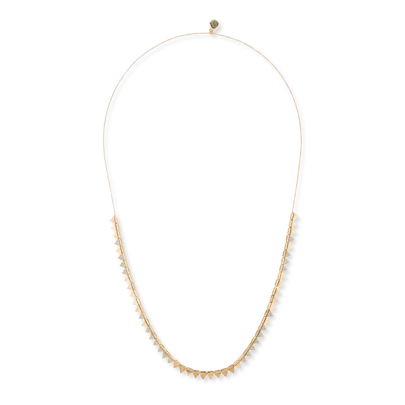 House of Harlow 1960 Frequency Necklace in Gold