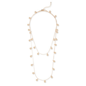 Sophie Harper Long Disc Necklace