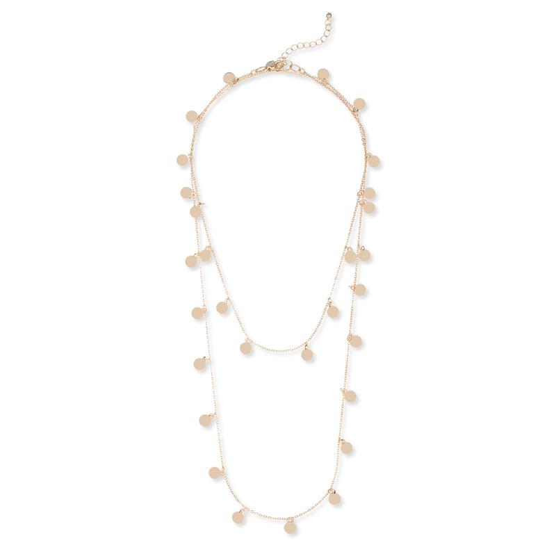 Sophie Harper Long Disc Necklace