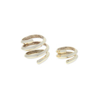 House of Harlow 1960 Caral Culture Ring Set in Gold