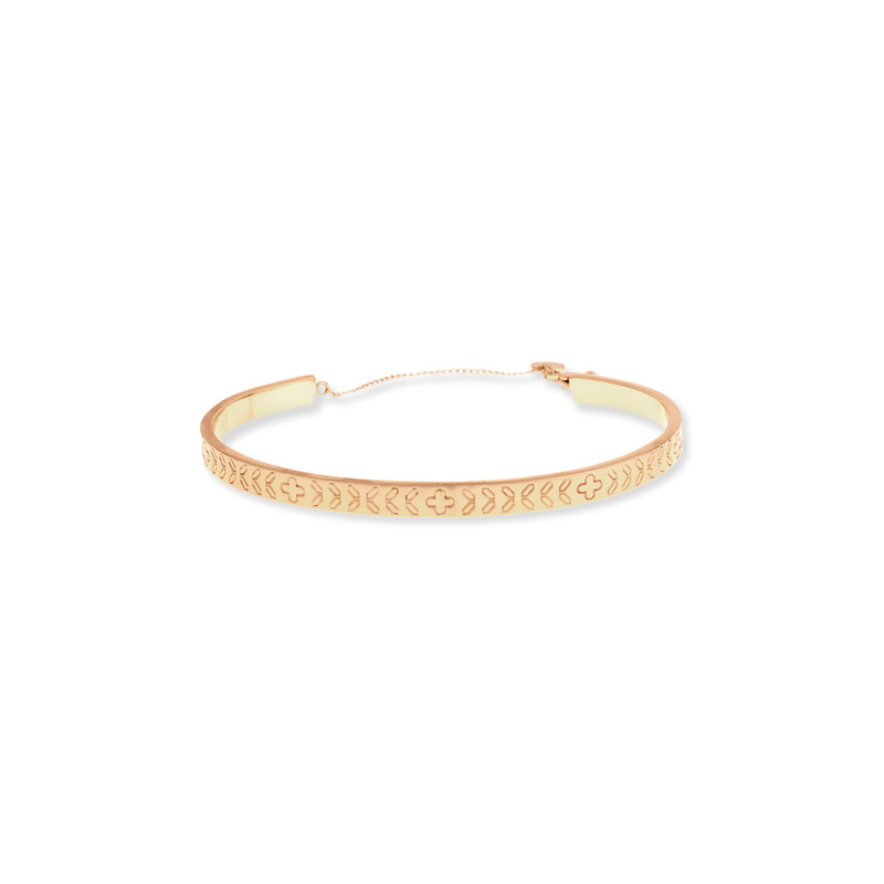Gorjana Kate Tribal Etch Cuff