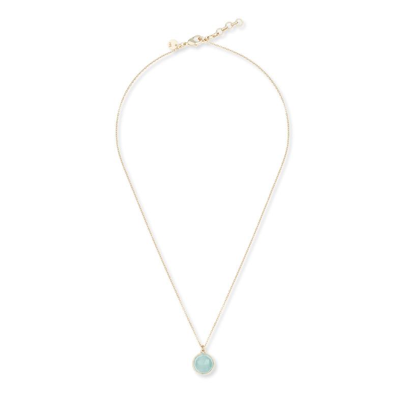 Melinda Maria Hunter Necklace in Aqua Onyx