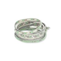 Nakamol Mixed Green Wrap Bracelet