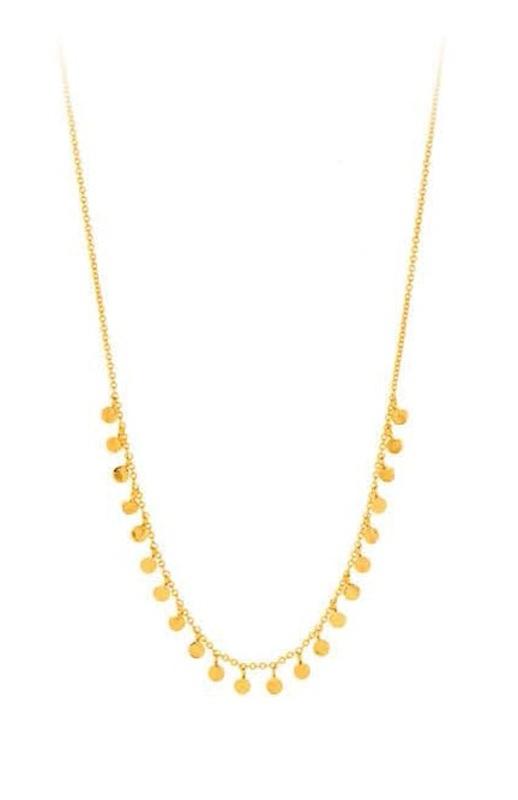 Gorjana Chloe Mini Necklace in Gold