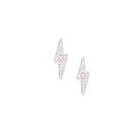 Sophie Harper Pavé Lightening Bolt Studs