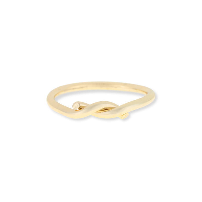 Sophie Harper Infinity Midi Ring in Gold