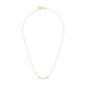 Gorjana Taner Bar Mini Necklace in Gold
