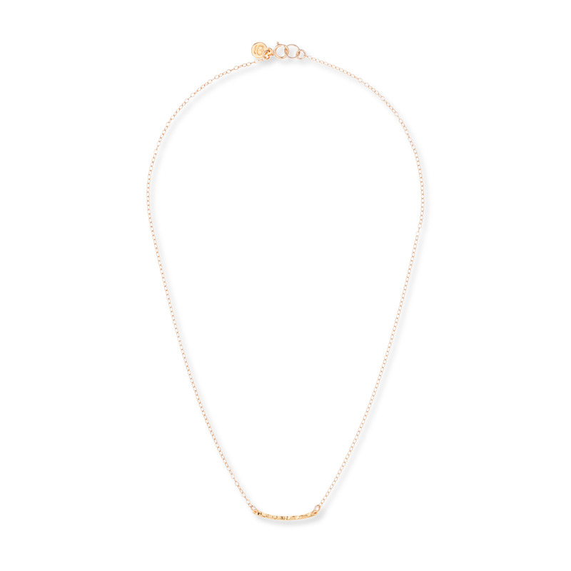 Gorjana Taner Bar Mini Necklace in Gold