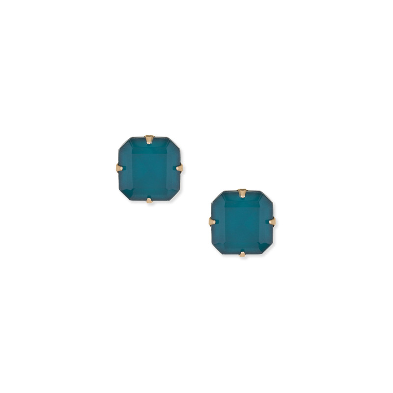 Loren Hope Sophia Studs in Deep Sea