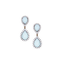 Loren Hope Abba Earrings in Ice Blue