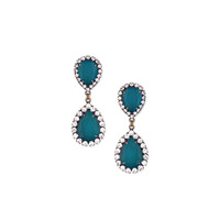 Loren Hope Abba Earrings in Deep Sea