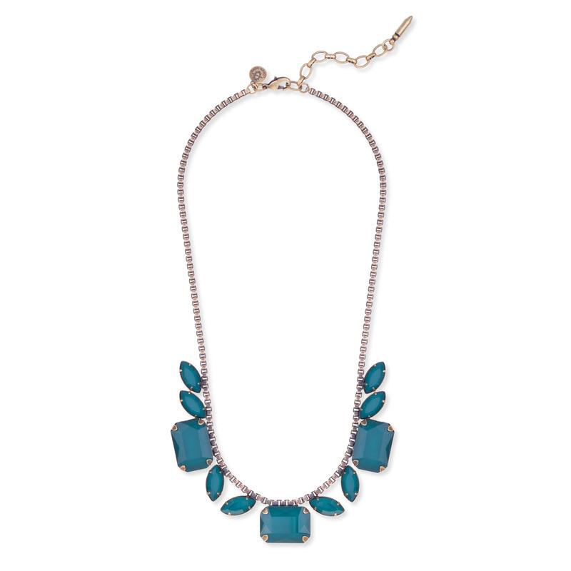 Loren Hope Blythe Necklace in Deep Sea