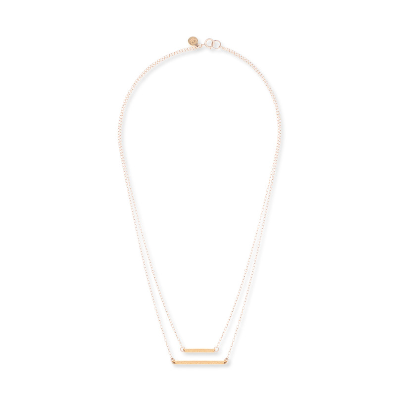 Gorjana Knox Layer Necklace