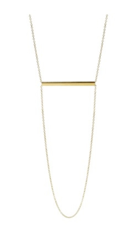 Kris Nations Harmony Chain Necklace in Gold