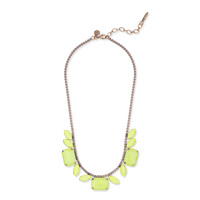 Loren Hope Blythe Necklace in Neon Yellow