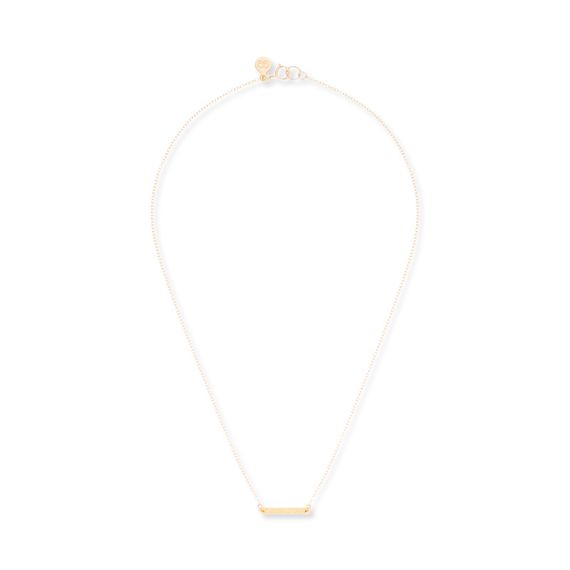 Gorjana Knox Bar Necklace