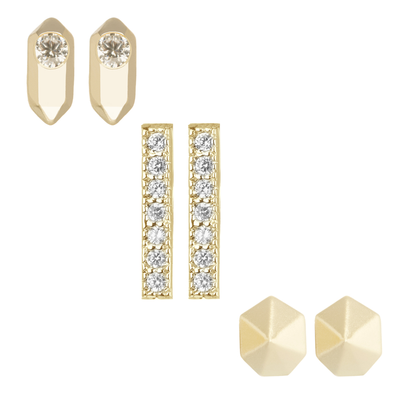 Kendra Scott Austin Stud Set in Gold