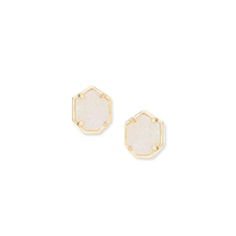 Kendra Scott Logan Earring in Iridescent Drusy