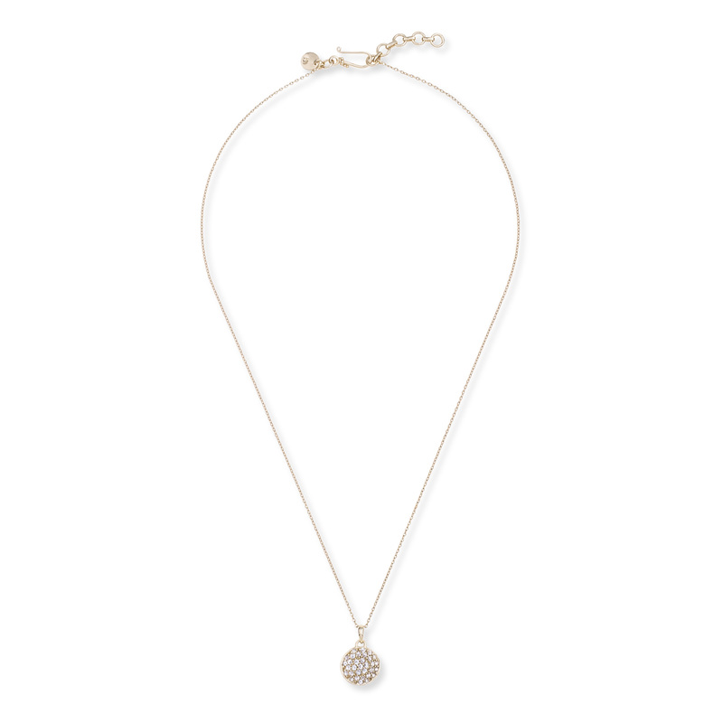 Melinda Maria Cade Pave Necklace