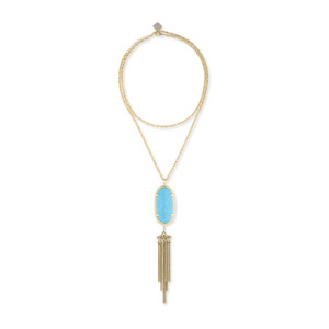 Kendra Scott Rayne Necklace in Turquoise