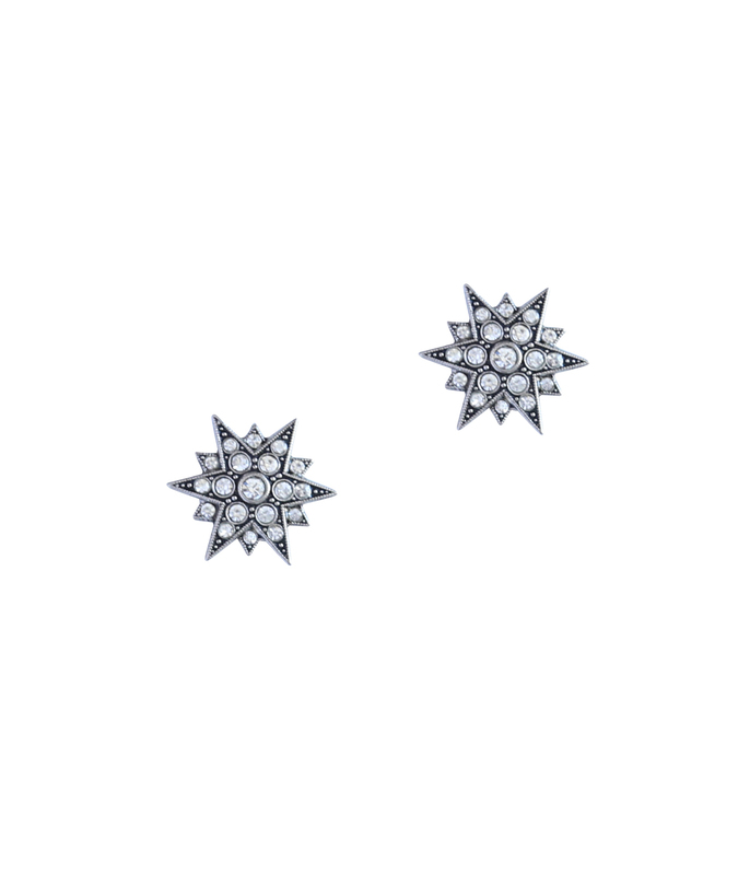 Loren Hope Starburst Studs in Silver