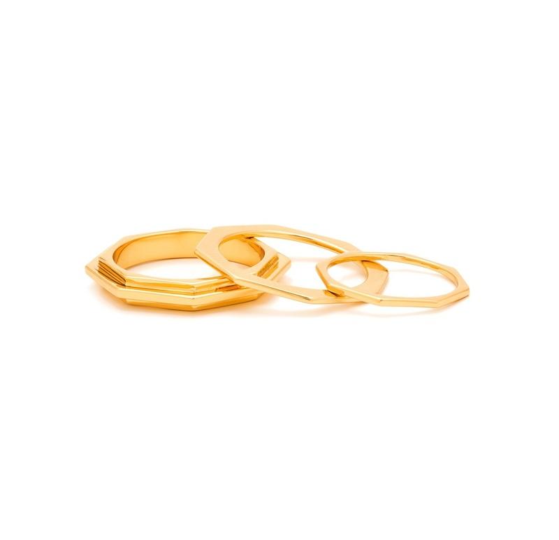 Gorjana Peytin Ring Set