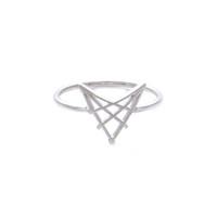 Wanderlust + Co Arrowhead Silver Ring